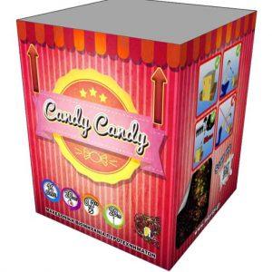 πυροτέχνημα 16 βολών candy candy