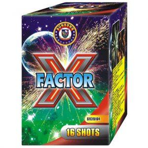 πυροτέχνημα 16 βολών x factor
