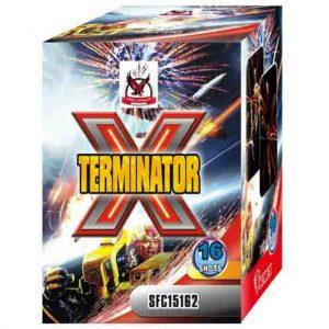 πυροτέχνημα 16 βολών x terminator