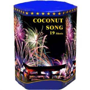 πυροτέχνημα 19 βολών coconut song