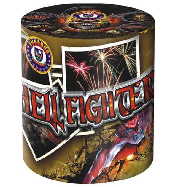 πυροτέχνημα 19 βολών hell fighter