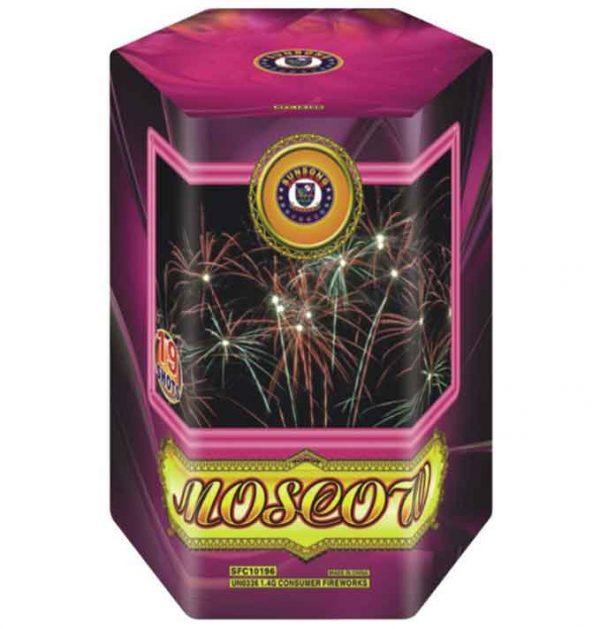 πυροτέχνημα 19 βολών moscow