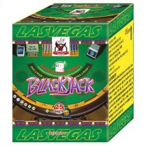 πυροτέχνημα 25 βολών blackJack