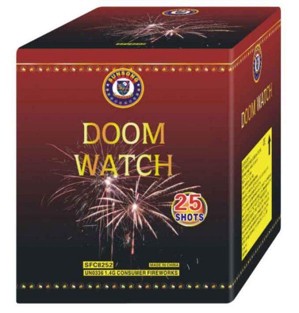 πυροτέχνημα 25 βολών doom watch