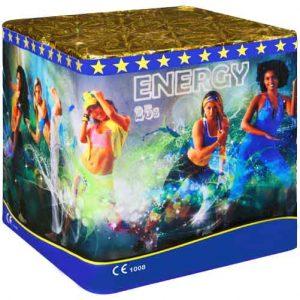πυροτέχνημα 25 βολών energy