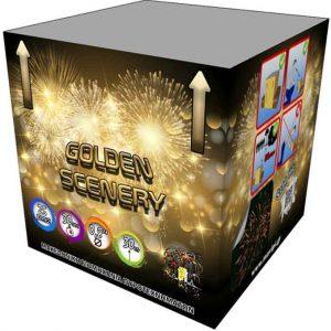 πυροτέχνημα 25 βολών golden scenery