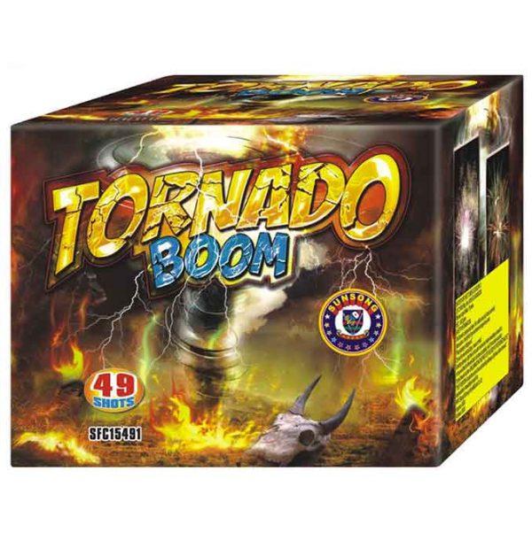 πυροτέχνημα 49 βολών tornado boom