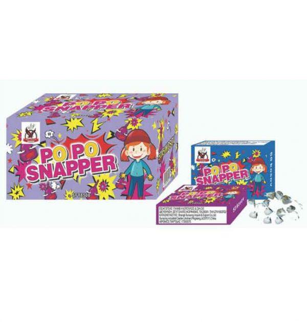 σκορδάκι popo snapper (κουτί 50 τμχ)