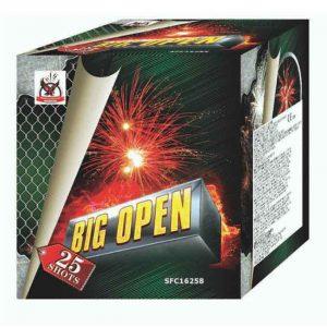 πυροτέχνημα 25 βολών big open