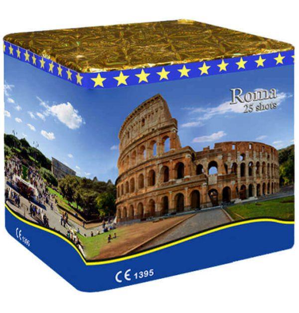 Πυροτέχνημα 25 βολών Roma