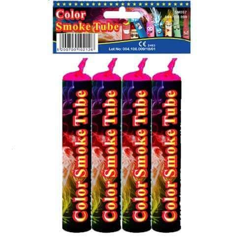 Καπνογόνο Color Smoke Tube (4 τεμ) -1