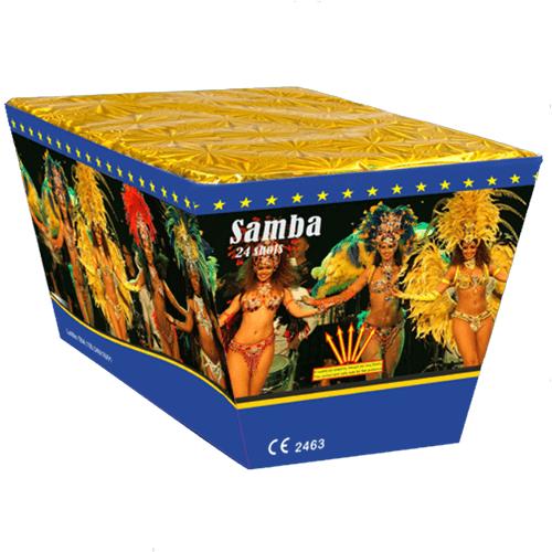 Πυροτέχνημα 24 βολών Samba