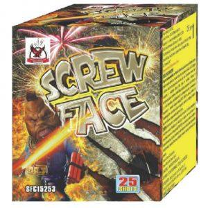 Πυροτέχνημα 25 βολών Screw face
