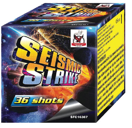 Πυροτέχνημα 36 βολών Seismic strike