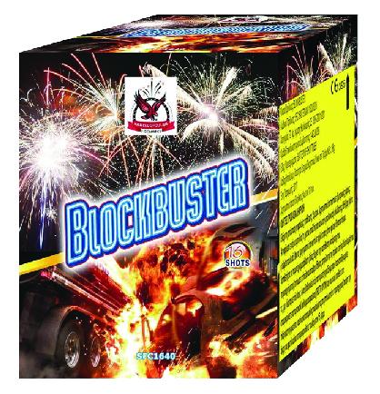 Πυροτέχνημα 16 βολών Blockbuster