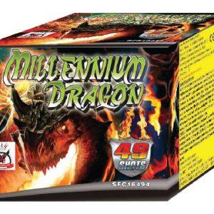 Πυροτέχνημα 49 βολών Millenium dragon