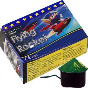 Ιπτάμενη Σβούρα Flying Rocket
