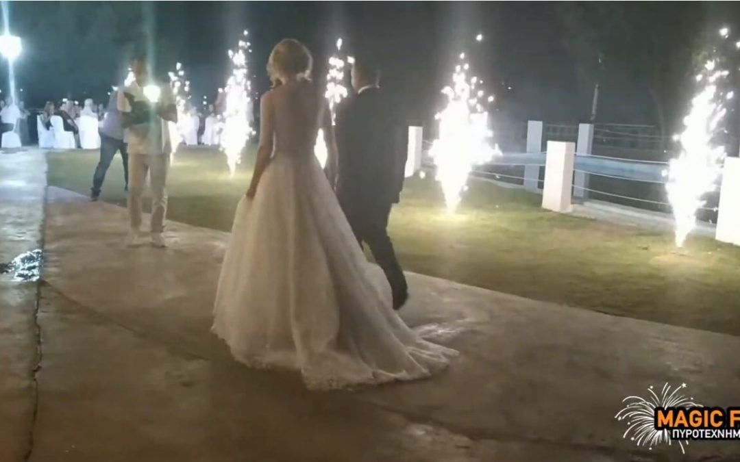 Πυροτεχνήματα στο κοσμικό κέντρο Ιόνιο