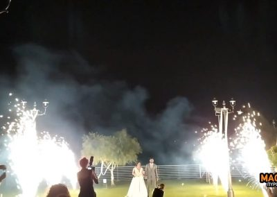 Πυροτεχνήματα στο κοσμικό κέντρο Ιθώρια