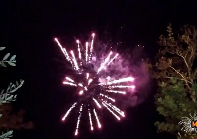 Πυροτεχνήματα γάμου στο κοσμικό κέντρο Πιθάρι