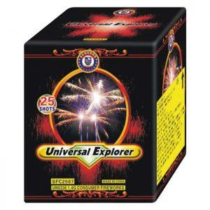 Εναέριο πυροτέχνημα 25 βολών Universal Explorer