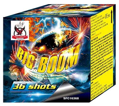 Εναέριο πυροτέχνημα 36 βολών Big Boom